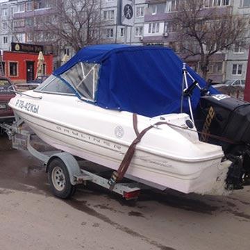 Эвакуатор катеров, лодок и яхт