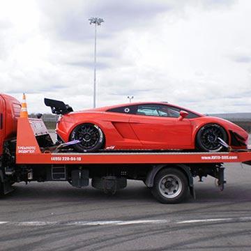 Эвакуатор спортивных автомобилей